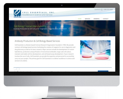 Cell Essentials Website